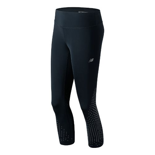Womens New Balance Precision Run Capris Pants - Galaxy S