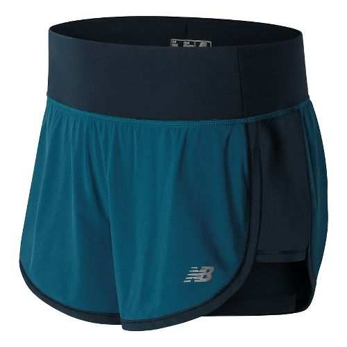 Women's New Balance�Impact 4in 2-In-1 Short