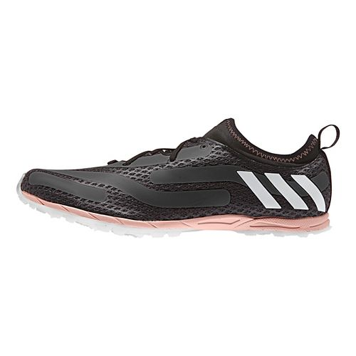Womens adidas XCS Cross Country Shoe - Black/Pink 10