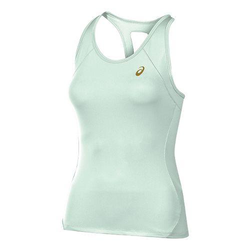 Womens ASICS Sports Sleeveless & Tank Technical Tops - Mint Green XS