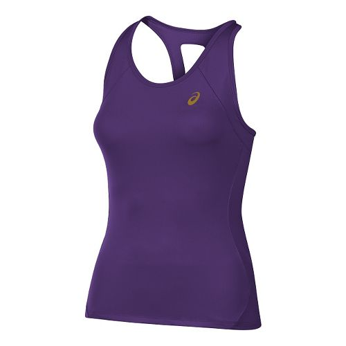 Womens ASICS Sports Sleeveless & Tank Technical Tops - Purple L