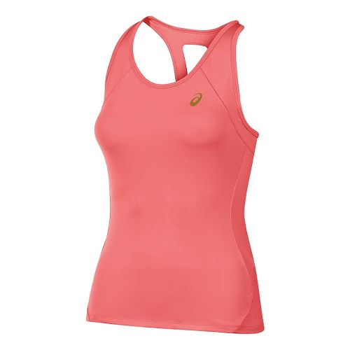 Womens ASICS Sports Sleeveless & Tank Technical Tops - Light Pink M