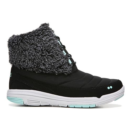 Womens Ryka Addison Casual Shoe - Black/Mint 6.5