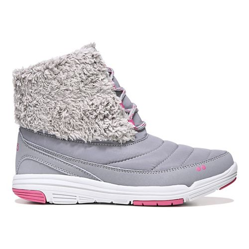 Womens Ryka Addison Casual Shoe - Grey/Pink 9.5