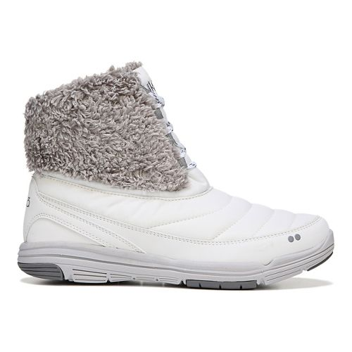 Womens Ryka Addison Casual Shoe - White/Grey 9.5