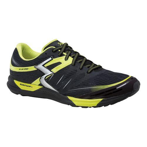 Mens 361 Degrees  Bio-Speed Cross Training Shoe - Black/Limeade 12