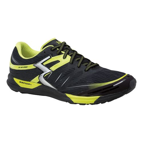 Mens 361 Degrees Bio-Speed Cross Training Shoe - Black/Limeade 8