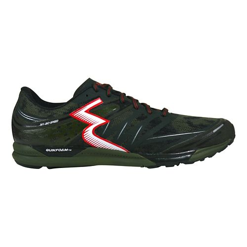 Mens 361 Degrees  Bio-Speed Cross Training Shoe - Forest/Cots 8