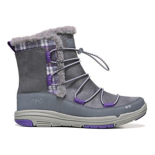 Womens Ryka Aubonne Casual Shoe - Grey/Purple 9
