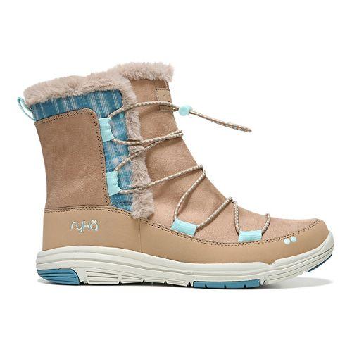 Womens Ryka Aubonne Casual Shoe - Taupe/Blue 6.5