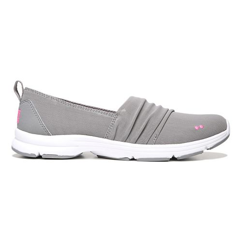 Womens Ryka Jamboree Casual Shoe - Grey/Pink 9