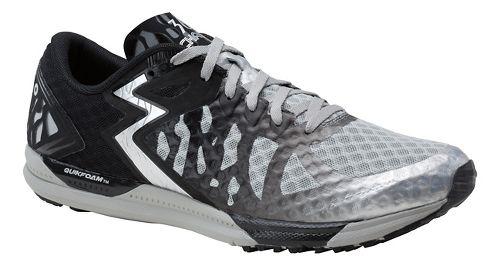 Mens 361 Degrees Chaser Running Shoe - Silver/Black 11.5