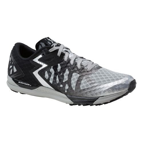 Mens 361 Degrees Chaser Running Shoe - Silver/Black 9.5