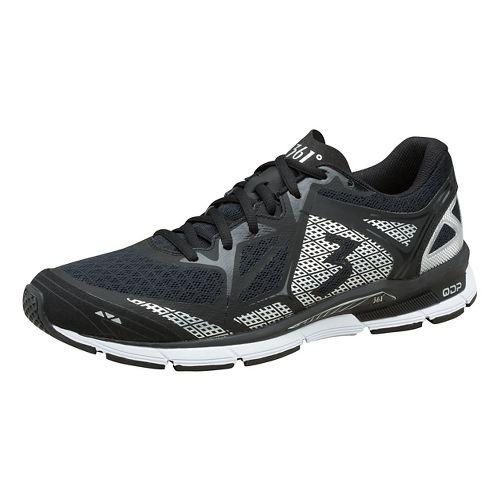 Mens 361 Degrees Fractal Cross Training Shoe - Black/Silver 11.5