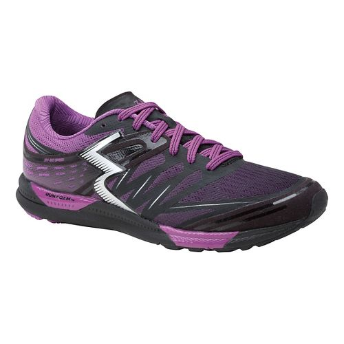 Womens 361 Degrees Bio-Speed Cross Training Shoe - Black/Violet 10.5