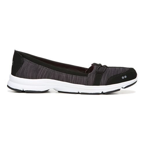 Womens Ryka Jenny Casual Shoe - Black/Grey 7