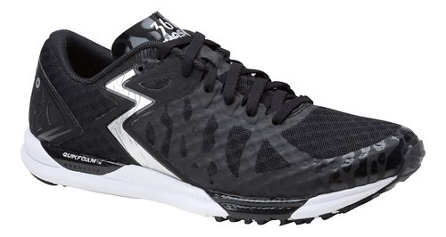 Womens 361 Degrees Chaser Running Shoe - Black/Silver 9.5