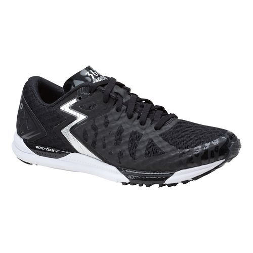 Womens 361 Degrees Chaser Running Shoe - Black/Silver 10.5
