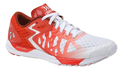 Womens 361 Degrees Chaser Running Shoe - White/Spice 10