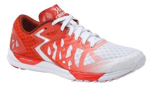 Womens 361 Degrees Chaser Running Shoe - White/Spice 7