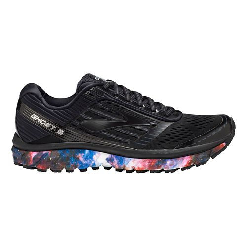 Mens Brooks Ghost 9 Galaxy Running Shoe - Night Sky 8