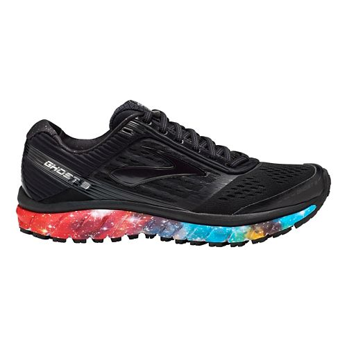 Womens Brooks Ghost 9 Galaxy Running Shoe - Night Sky 8