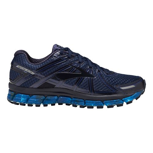 Mens Brooks Adrenaline GTS 17 Galaxy Running Shoe - Night Sky/Navy 9