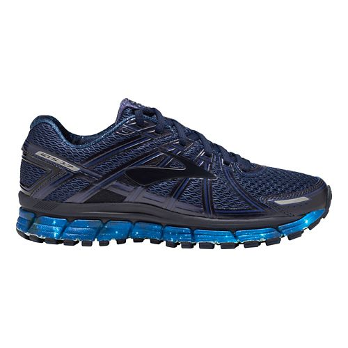 Womens Brooks Adrenaline GTS 17 Galaxy Running Shoe - Night Sky/Navy 5