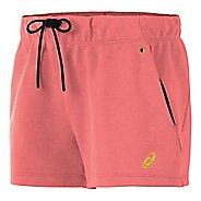 Womens ASICS Fleece Lined Shorts