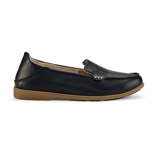 Womens OluKai Kiele Casual Shoe - Black/Black 11
