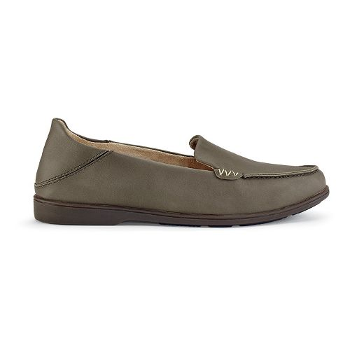 Womens OluKai Kiele Casual Shoe - Charcoal/Charcoal 5