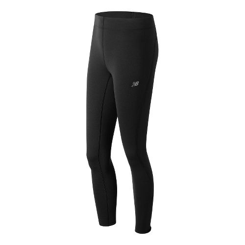 Womens New Balance Performance Merino Tights & Leggings Pants - Black XL