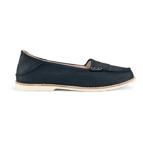 Womens OluKai Okika Casual Shoe - Carbon/Carbon 8