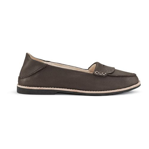 Womens OluKai Okika Casual Shoe - Dark Java/Dark Java 7