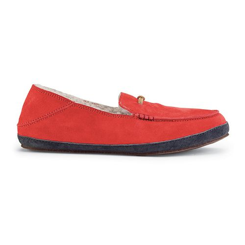 Womens OluKai Paani Slipper Casual Shoe - Grenadine/Shadow 5