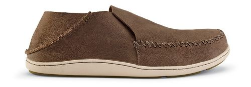 Mens OluKai Akahai Casual Shoe - Clay/Clay 14