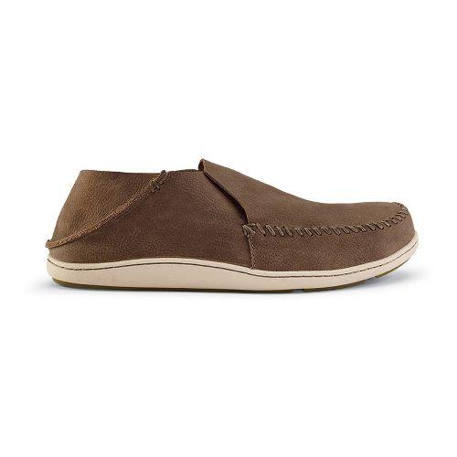 Mens OluKai Akahai Casual Shoe - Clay/Clay 12
