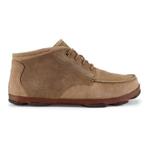 Mens OluKai Hamakua Casual Shoe - Ecru/Toffee 14