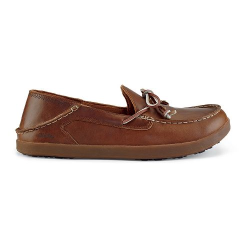 Mens OluKai Huli Casual Shoe - Toffee/Toffee 8