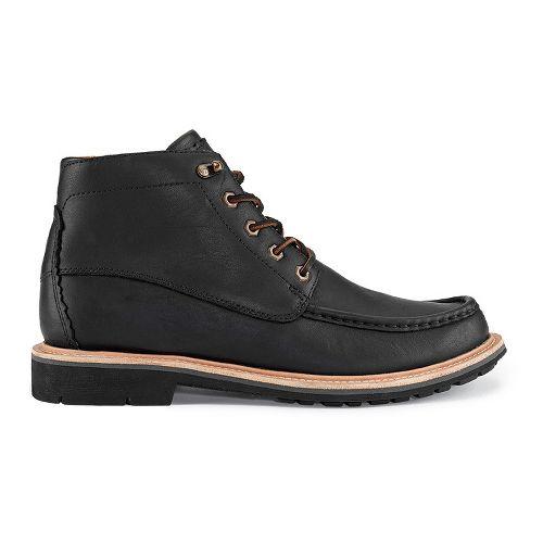 Mens OluKai Kohala Casual Shoe - Black/Black 13