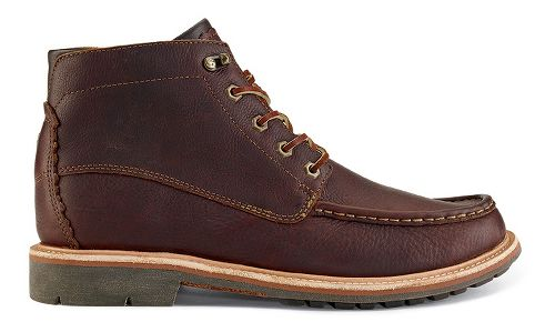Mens OluKai Kohala Casual Shoe - Dark Wood/Dark Wood 13
