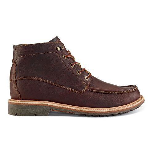 Mens OluKai Kohala Casual Shoe - Dark Wood/Dark Wood 9.5