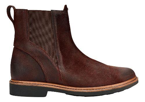 Mens OluKai Makaloa Casual Shoe - Dark Wood/Dark Wood 9.5