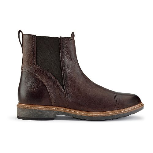 Mens OluKai Makaloa Casual Shoe - Coffee/Coffee 8