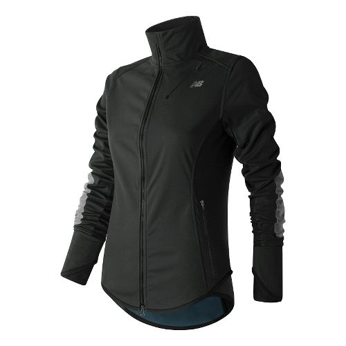 Womens New Balance Windblocker Cold Weather Jackets - Black M