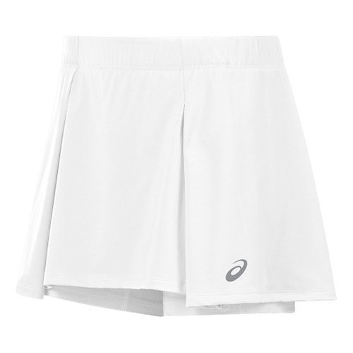 Womens ASICS Athlete Skorts Fitness Skirts - White XL