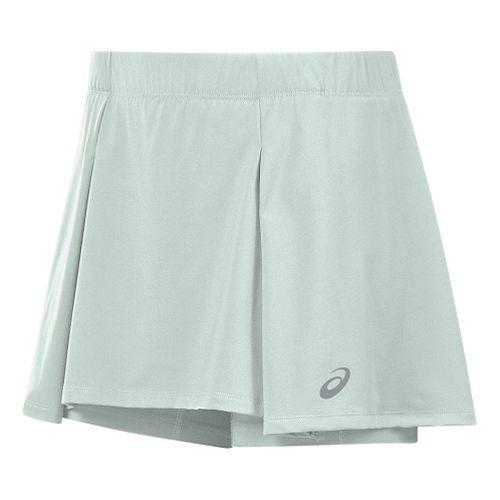 Womens ASICS Athlete Skorts Fitness Skirts - Mint Green XL