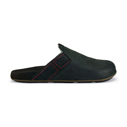 Mens OluKai Noho Kai Casual Shoe - Black/Black 9