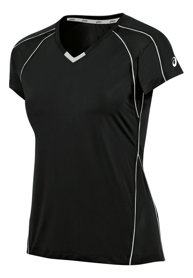 Womens ASICS Upcourt Jersey Short Sleeve Technical Tops