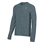 Mens ASICS Lite-Show Long Sleeve Technical Tops